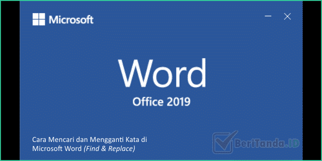 BeriTkamu.ID – Sebagai aplikas pengolah kata yang paling banyak digunakan, tentu Microsoft Word memiliki banyak fitur dan kelebihan. Salah satunya adalah fitur Find & Replace yang berguna untuk mencari dan mengganti kata di Microsoft Word. Fitur ini sebenarnya bukanlah fitur mewah milik Microsoft, karena pada kenyataannya semua aplikasi pengolah kata pasti memiliki fitur yang satu ini. Hanya saja masih cukup banyak yang belum dapat memanfaatkan fitur Find & Replace ini. Pada dasarnya kamu bisa melakukan pencarian kata atau kalimat secara manual. Namun, tentu akan banyak memakan waktu terlebih jika dokumen tersebut berisi ratusan halaman. Tentunya kamu tidak mungkin melakukan pengecekan di semua halaman tersebut. Nah, pada kesempatan kali ini kita akan memberikan trik atau cara untuk mencari dan mengganti kata atau kalimat pada Microsoft Word. Ulasan ini juga merupakan salah satu dari rangkaian tutorial lengkap tentang Microsoft Office Word loh. Untuk kamu yang ingin lebih banyak tahu bagaimana bekerja dengan Microsoft Word kamu bisa langsung cek link dibawah ini. Tutorial lengkap Microsoft Office Word Mencari Kata atau Kalimat di Microsoft Word 1. Buka file dokumen Microsoft Word Pertama buka dokumen yang ingin kamu cari kata atau kalimatnya yang ada pada komputer atau laptop kamu. 2. Klik Menu Find pada ribbon Editing Kemudian pastikan kamu berada pada tab menu Home, lalu klik menu Find yang terdapat pada ribbon Editing. 3. Muncul pane navigasi, kemudian cari kata Setelah klik Find, maka pada Word kamu akan muncul panel Navigation pada bagian kiri jendela Microsoft Word. Seanutnya ketikkan kata atau kalimat yang ingin kamu cari. Maka secara otomatis kata atau kalimat tersebut akan muncul pada dokumen kamu. Nah, sampa sin kamu sudah dapat mencari kata atau kalimat di Microsoft Word. Selain dengan cara tersebut untuk memunculkan panel navigasi untuk mencari kata kamu juga bisa melakukannya dengan tombol Shortcut loh. Caranya cukup klik Ctrl + F pada keyboard kamu. Ma