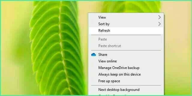 Fungsi Refresh di Windows